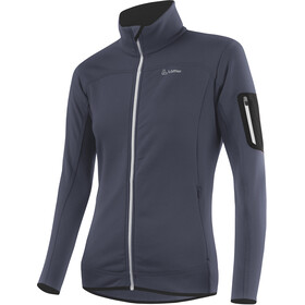 Löffler Stretch Fleece Jas Dames, graphite